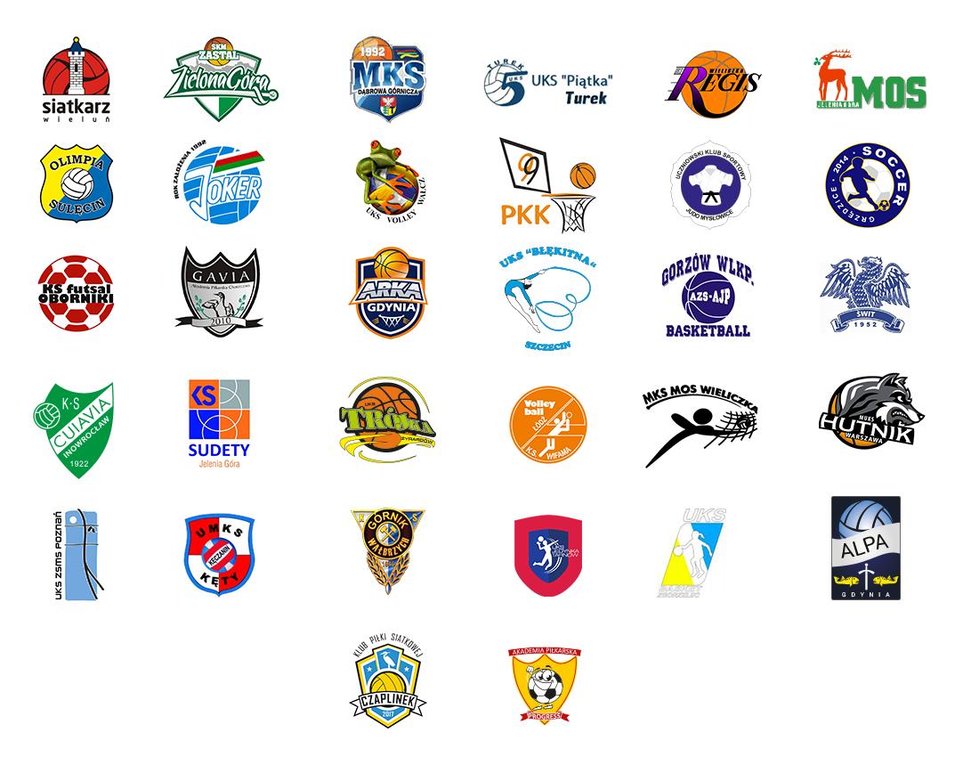 kluby z którymi współpracujemy